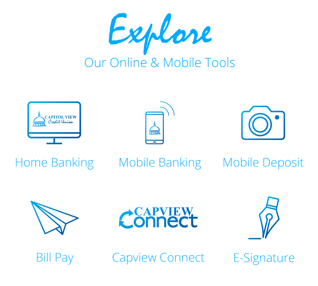 Explore Online Mobile Graphic