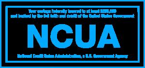 NCUA Logo Cyan