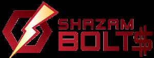 Shazam Bolt Logo